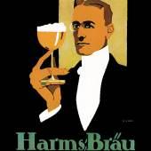 Harms-Bräu, Hans Rud Erdt, um 1912  Foto Carlsberg Deutschland