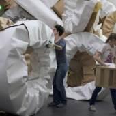 Michael Beutler, Zustand mit Loops und Kringeln, 2012, Foto: Michael Beutler © Kunstmuseum Luzern; Michael Beutler