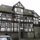 Fachwerkhaus in der Friedrichsbrücker Straße in Helsa © Deutsche Stiftung Denkmalschutz/Gehrmann
