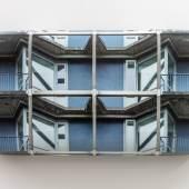 Hein Spellmann, Fluchttreppe, 2020, Holz, Schaumstoff, CLC-Print, Silikon, 25,5 x 51,5 x 9 cm, courtesy of Rasche Ripken & the artist
