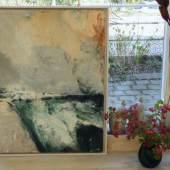 Ausstellung Grün kommt zu Ihnen nach Hause: Bild Nr. 2 steht im Schaufenster.