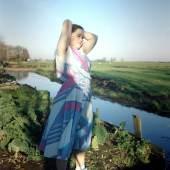 Hellen van Meene, Untitled, 1996 C-Print, 29 x 29 cm Courtesy Sadie Coles HQ, London and the artist