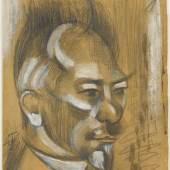 Henri LeFauconnier Der holländische Dichter Albert Verwey (1865-1937), nicht datiert