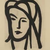 Henri Matisse, Bédouine au grand voile, 1947, Aquatinta, © Succession H. Matisse, VG Bild-Kunst, Bonn 2018
