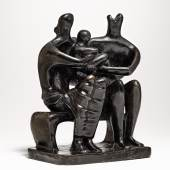 Henry Moore, Family Group, bronze, conceived in 1946 and cast by 1947 (est. £1,300,000- 1,800,000)