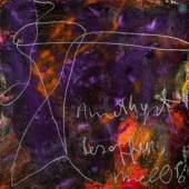 Herbert Brandl, Amethyst besoffen, Öl auf Leinwand,   100 x 100 cm, 1996/1997, Rufpreis € 8.000