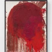 Hermann Nitsch, untitled (38/01), 2001, acrylic on canvas, 100 x 80 cm Photo © Suppan Fine Arts / kunst-dokumentation
