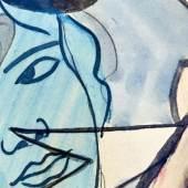 image: Francis Picabia, Bête Rose (detail), 1925-28.