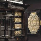 LotNo 2275 Large ebony cabinet of museum quality Antwerp
