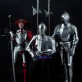 Harnische und Stangenwaffen aus der Sammlung Klingbeil.
