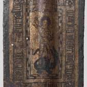 Eine seltene gotische Hand-Pavese aus dem Städtischen Zeughaus von Zwickau, Böhmen um 1470 - 80. Copyright Hermann Historica oHG 2012