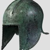 Illyrischer Helm, 6. Jahrhundert vor Christus. Zuschlag: 19.000 Euro