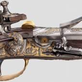 Steinschlossflinte aus dem persönlichen Besitz der Zarin Elisabeth Petrovna (1709 – 1762) Tula, datiert 1741. Zuschlag: 145.000 Euro