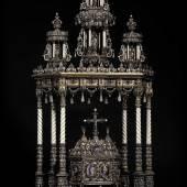 Kostbares Reliquiar – einst Geschenk des belgischen Königshauses an Kaiser Franz Joseph I. von Österreich.  Zuschlag: 275.000 Euro