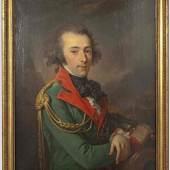 Ölporträt des Alexandre Feodorovitch d'Andrault Compte de Langeron (1763 - 1831)-  Zuschlag: 84.000 Euro