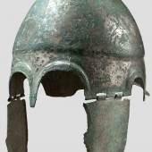 Griechisch Chalkidischer Helm, Typus V, frühes 4. Jahrhundert vor Christus. Zuschlag: 22.000 Euro