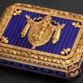 Geschenk von Kaiser Napoleons I an Marschall Michel Ney, Fürst von der Moskwa.  Zuschlag: 60.000 Euro