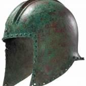 Illyrischer Helm, Ende 7. - Mitte 6. Jahrhundert vor Christus. Zuschlag: 9.500 Euro