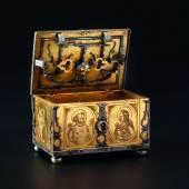 HH 71 LotNo 2058 Significant miniature casket Michel Mann Nuremberg 1600
