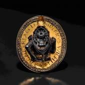 Ehrenmedaillon 1677 Großer Kurfürst Friedrich Wilhelm von Brandenburg. Zuschlag: 9500 Euro