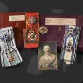 Prinz Alfons von Bayern - Hausritterorden vom Heiligen Georg, 1880. Zuschlag: 30000 Euro