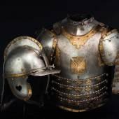 Polnisch Historisches Museum: Husarischer Kürass, Polen, 17. Jhdt. SP: 28000 Euro