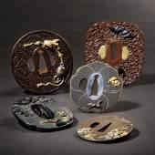 Tsubas-Sammlung 3459 Mokkogata Tsubas, Japan, datiert 1856, Ausrufpreis: 1200 Euro