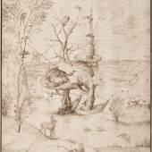 Hieronymus Bosch Der Baummensch, um 1505 Albertina, Wien