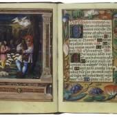 Verkündigung an die Hirten, Gebetbuch (lat.), Westdeutschland (?), um 1530 © Österreichische Nationalbibliothek