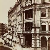 Verkaufslokal der Firma Haas & Söhne, Fotografie von Carl Haack, um 1870, Wien Museum