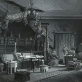 Wilhelm Gause: Das türkische Zimmer von Kronprinz Rudolf in der Wiener Hofburg, 1885. Quelle: Über Land und Meer – Allgemeine Ilustrirte Zeitung, XXVIII (1886) I, 7. Wien Museum