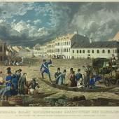 Hochwasserkatastrophe in Wien im März 1830 © Österreichische Nationalbibliothek