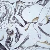 Hoeld Christian - Akt, Acryl auf Leinwand, 80x120 cm
