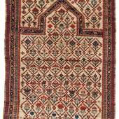 Dagestan Gebetsteppich  Nordostkaukasus 2. Hälfte 19. Jh. ca. 132 x 95 cm  Zur Verfügung gestellt von: Antike Teppiche Hofer