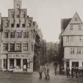Holstenstraße, um 1887 (c) Unbekannter Fotograf