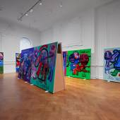 Exhibition impressions - Bjarne Melgaard: Bodyparty