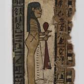 Horussohn Mumienkartonage Leinen, Stuck Ptolemäische Zeit (c) onb.ac.at