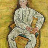 Egon Schiele, Victor Ritter von Bauer, 1918 © Belvedere Wien Öl auf Leinwand 140,6 x 109,8 cm