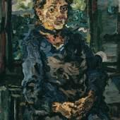 Oskar Kokoschka, Romana Kokoschka, die Mutter des Künstlers, 1917 © Belvedere Wien Öl auf Leinwand 112 x 75 cm