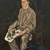 Egon Schiele, Bildnis Dr. Franz Martin Haberditzl Foto: Johannes Stoll © Belvedere Wien