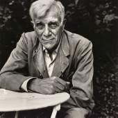 Franz Hubmann Georges Braque (1882-1963), 1957 Silbergelatineabzug ALBERTINA, Wien – Schenkung Sammlung Helmut Klewan © Franz Hubmann | Imagno | picturedesk.com