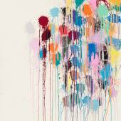Ian Davenport Colour Splat Edge (white)
