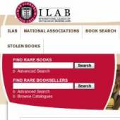 Unternehmenslogo ILAB- LILA Internationale Liga der Antiquare