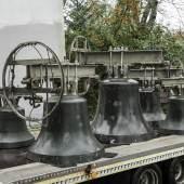 Kirchenglocken stehen bereit für den Transport nach Zürich Foto © Katja Illner