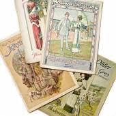 Illustrierte Modewaren-Berichte 1898/99–1913,  Firmenarchiv Kastner & Öhler
