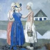 Pablo Picasso, Les trois Hollandaises, 1905, © Succession Picasso 2016