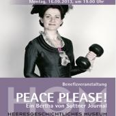 Plakat: Weltfriedenstages (21. September)