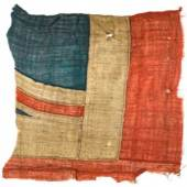 PROPERTY FROM A PRINCELY COLLECTION Battle of Trafalgar--HMS Victory, 'The Victory Jack' AN EXCEPTIONALLY LARGE FRAGMENT OF THE UNION FLAG, BELIEVED TO HAVE FLOWN FROM HMS VICTORY AT THE BATTLE OF TRAFALGAR Estimate   80,000 — 100,000
