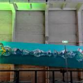 Michael Luther Colourado | 2005 | Öl auf Leinwand | 7-teilig 300 x 1330 cm