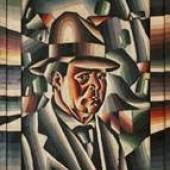 Arthur Segal (1875-1944), Self-portrait, sold by Galleria del Laocoonte;
